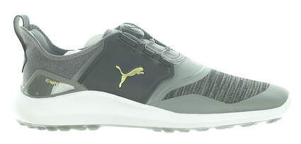 New Mens Golf Shoe Puma IGNITE NXT DISC Medium 11.5 Black/Grey MSRP $120 192245