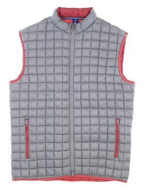 New Mens Footjoy 1857 Collection Golf Vest Medium M Gray MSRP $125