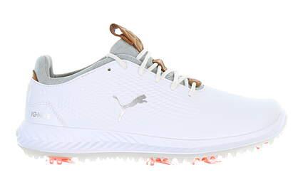 New Junior Golf Shoe Puma IGNITE PWRADAPT Medium 4 White 190584 01