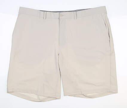 New Mens Nike Golf Shorts 42 Ecru MSRP $65