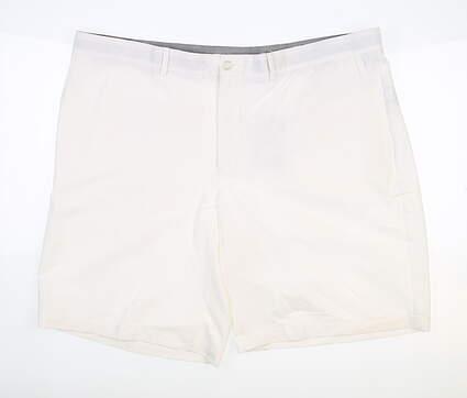 New Mens Nike Golf Shorts 40 White MSRP $65