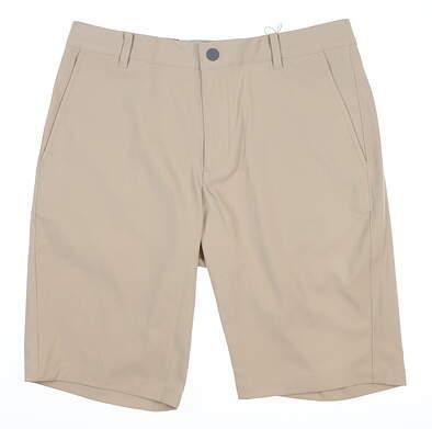 New Mens Puma Jackpot Shorts 32 White Pepper MSRP $65 599246 06