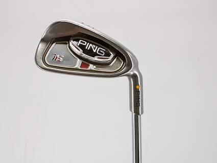 Ping G15 Single Iron 7 Iron 32° Ping TFC 149I Graphite Regular Right Handed Yellow Dot 36.75in