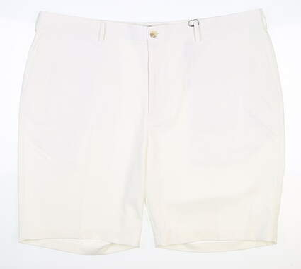 New Mens Peter Millar Shorts 42 White MSRP $98 MC0EB82