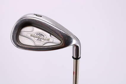 Callaway X-14 Single Iron Pitching Wedge PW Callaway Grafalloy Graphite Ladies Right Handed 34.75in
