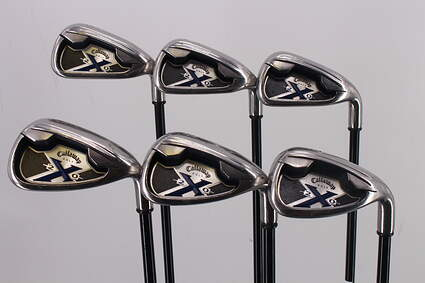 Callaway X-20 Iron Set 5-PW Stock Graphite Shaft Graphite Regular Right Handed 39.0in