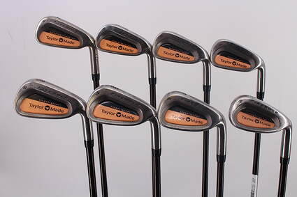 TaylorMade Firesole Iron Set 4-PW SW TM Bubble Graphite Ladies Right Handed 37.25in