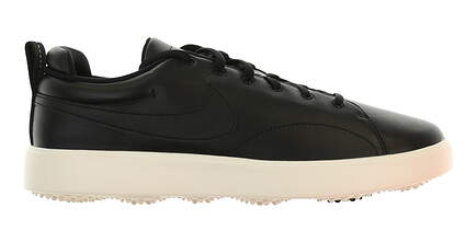 New Mens Golf Shoe Nike Course Classic Wide 10.5 Black MSRP $100 905233 001