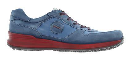 New Mens Golf Shoe Ecco Speed Hybrid 45 (11-11.5) Extra Width Blue MSRP $180