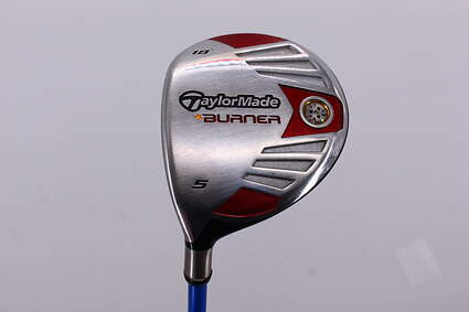 TaylorMade 2007 Burner Steel Fairway Wood 5 Wood 5W 18° Grafalloy ProLaunch Blue 45 Graphite Regular Left Handed 41.0in