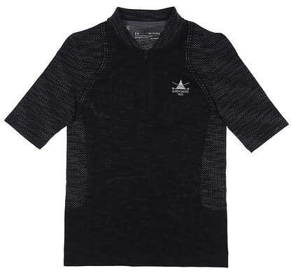 New W/ Logo Womens Under Armour Polo X-Small XS Black MSRP $72