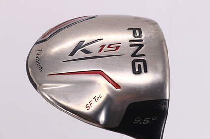 Ping K15 Driver 9.5° Ping TFC 149D Graphite Stiff Right Handed 45.75in
