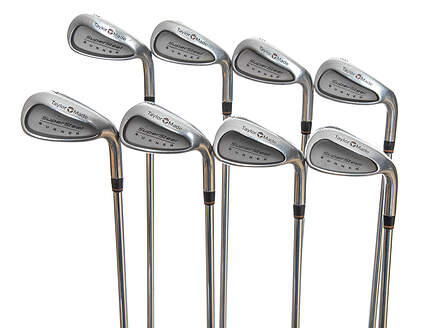 TaylorMade Supersteel Iron Set 3-PW TM S-90 Steel Stiff Right Handed 37.5in