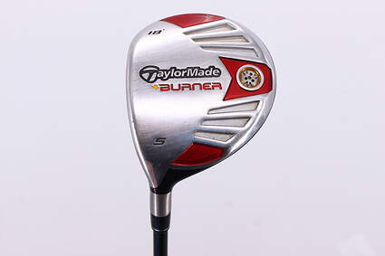 TaylorMade 2007 Burner Steel Fairway Wood 5 Wood 5W 18° Fujikura Reax 50 Graphite Stiff Left Handed 42.5in