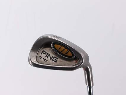 Ping i3 Blade Single Iron Pitching Wedge PW Ping JZ Steel Stiff Right Handed Brown Dot 35.75in