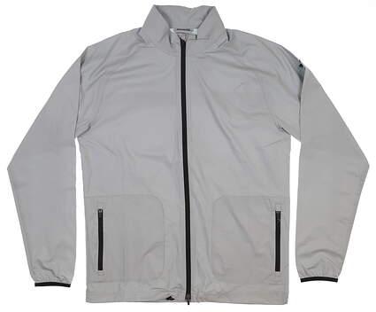New Mens Puma Zephyr Jacket Medium M Quarry MSRP $80 577902 01
