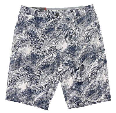 New Mens Puma Palms Shorts 32 Dark Denim MSRP $70 596379 01