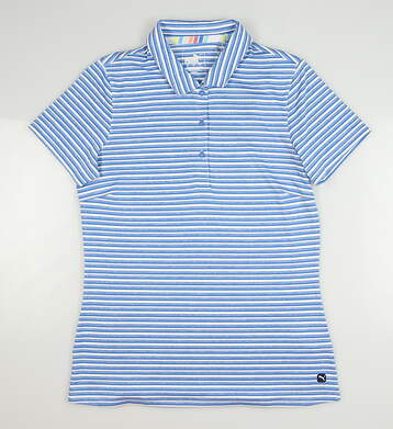 New Womens Puma Drive Polo Small S Palace Blue MSRP $60 595820 99