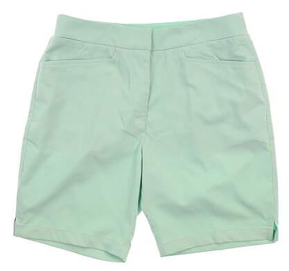New Womens Puma Pounce Bermuda Shorts Small S Mist Green MSRP $60 577944 15