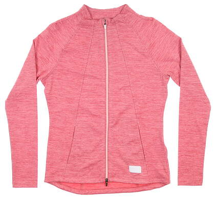 New Womens Puma Warm Up Jacket Small S Rapture Rose MSRP $70 595850 04