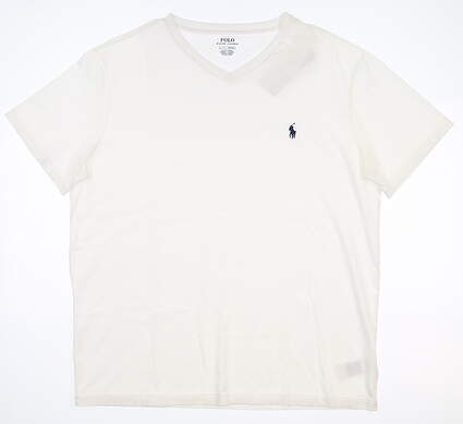 New Mens Ralph Lauren T-Shirt Large L White MSRP $40