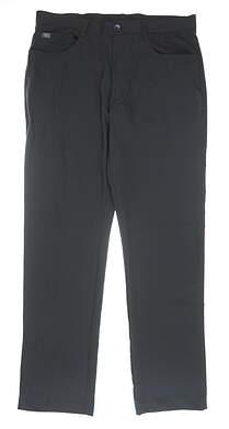New Mens MATTE GREY Golf Pants 34 Gray MSRP $60