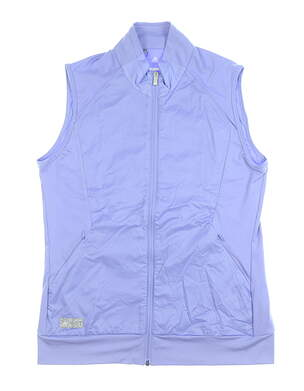 New Womens Adidas Tech Wind Vest Medium M Periwinkle MSRP $75 CD4030