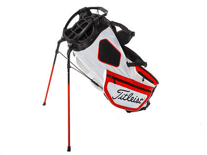 Brand New Titleist Hybrid 14 White/Red/Black Stand Bag