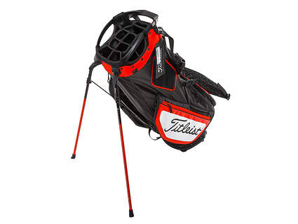 Brand New Titleist Hybrid 14 Black/Red/White Stand Bag