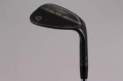 Titleist Vokey SM5 Raw Black Wedge Gap GW 50° 12 Deg Bounce F Grind Titleist SM5 BV Steel Wedge Flex Right Handed 36.0in