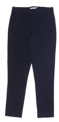 New Womens Peter Millar Pants Small S Navy Blue MSRP $110 LF18B48