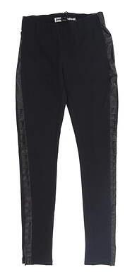 New Womens Jamie Sadock Golf Pants 0 Jet Black MSRP $114 72313