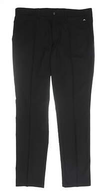 New Mens J. Lindeberg Pants 36 x34 Black MSRP $115 11J42