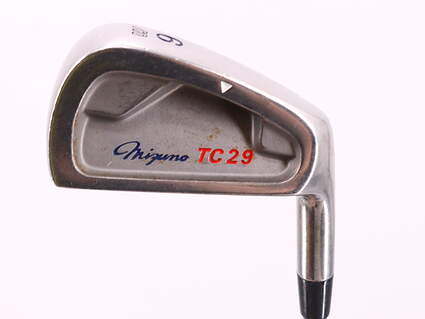 Mizuno TC29 Single Iron 6 Iron Stock Steel Shaft Steel Stiff Right Handed 37.0in