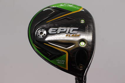 Callaway EPIC Flash Fairway Wood 7 Wood 7W 20° Project X Even Flow Green 65 Graphite Regular Right Handed 43.25in