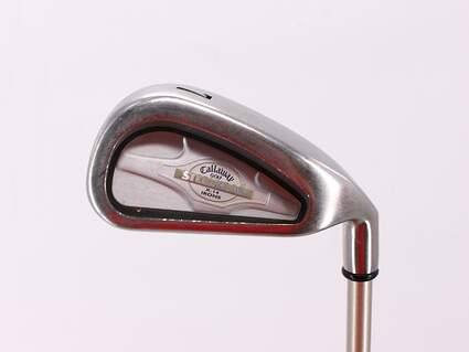 Callaway X-14 Single Iron 7 Iron Stock Graphite Shaft Graphite Ladies Right Handed 36.0in