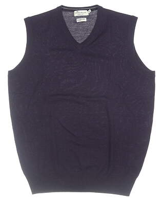 New Mens Peter Millar Vest Medium M Purple MSRP $155