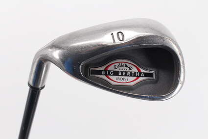 Callaway 2002 Big Bertha Single Iron Pitching Wedge PW Callaway RCH 75i Graphite Ladies Left Handed 35.5in