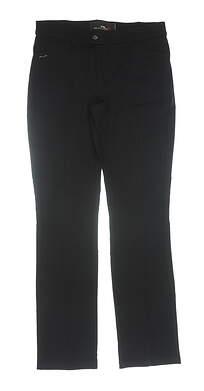 New Womens Ralph Lauren RLX Golf Pants 4 Black MSRP $165