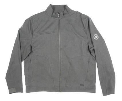 New Mens Greg Norman Jacket Large L Gray MSRP $126 G7F8J681