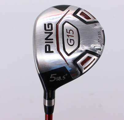 Ping G15 Fairway Wood 5 Wood 5W 18.5° Ping TFC 149F Graphite Senior Left Handed 41.75in