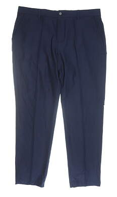 New Mens Adidas Adipure Tech Pants 38 x32 Navy Blue MSRP $100 DS8963
