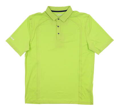 New Mens SUNICE Thomas Coollite Polo Large L Lime MSRP $69 841027