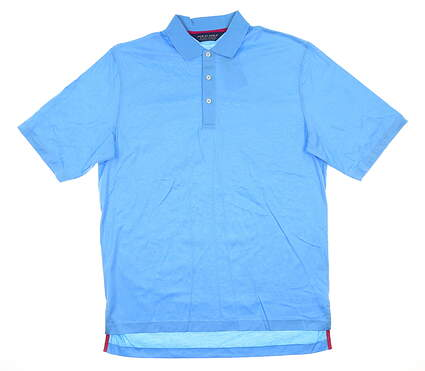 New Mens Ralph Lauren Golf Polo Medium M Blue MSRP $80