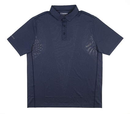 New Mens SUNICE Franko Body Mapping Polo Large L Midnight MSRP $69 841004