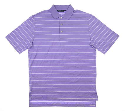 New Mens Ralph Lauren Golf Polo Medium M Purple MSRP $80