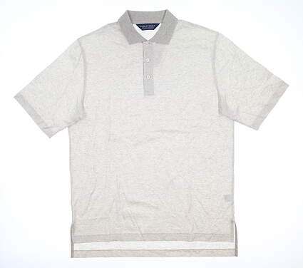New Mens Ralph Lauren Golf Polo Medium M Oatmeal MSRP $80