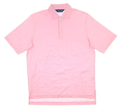 New Mens Ralph Lauren Golf Polo Medium M Pink MSRP $80