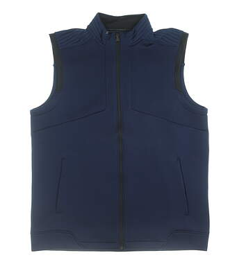 New Mens Under Armour Vest Large L Blue MSRP $70 UM0653