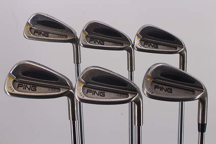 Ping S59 Iron Set 5-PW Ping AWT with Cushin Insert Steel Stiff Right Handed Yellow Dot 37.5in